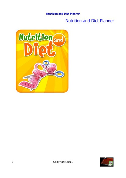 Nutrition and Diet Planner