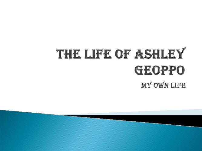 Ashley geoppo
