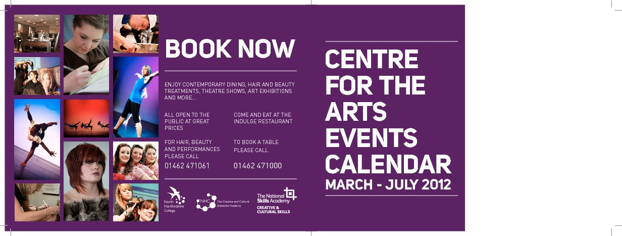 CFA Calendar of Events March - July 2012