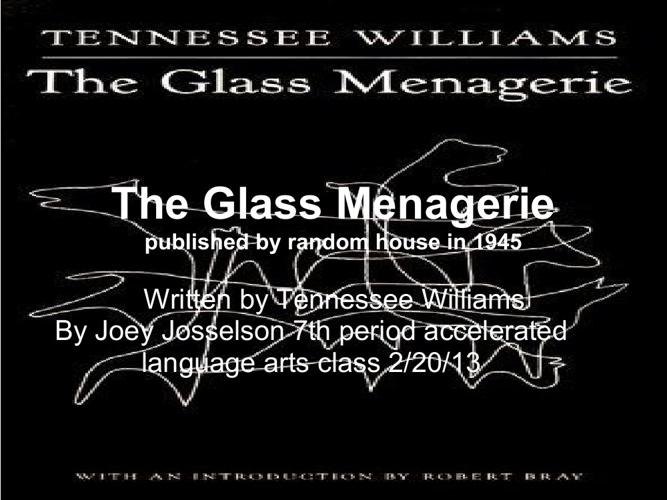 Glass Menagerie flipbook