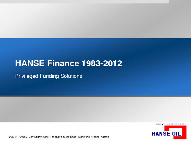 Finance 2012