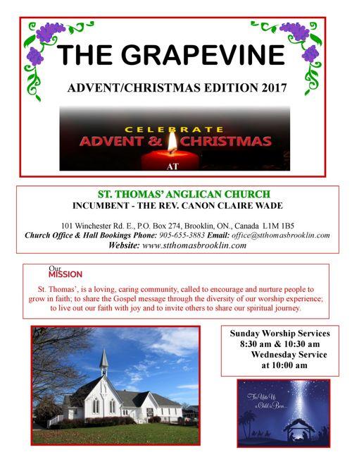 The Grapevine • Advent 2017
