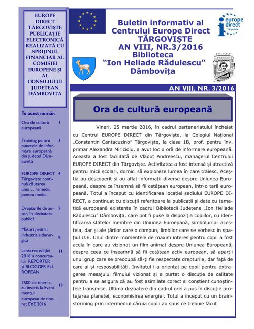 3. Buletin informativ electronic An VIII nr 3 martie   2016 (1)