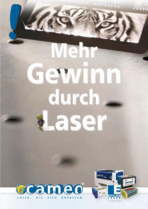 cameo Laser - Mehr Gewinn durch Laser