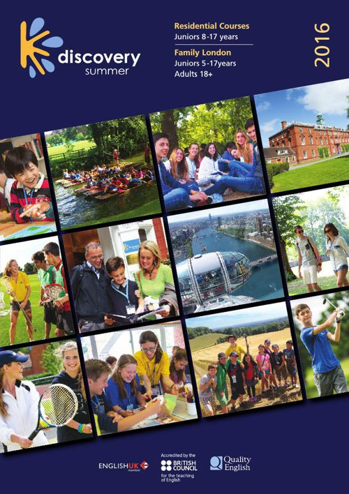 Discovery Summer Brochure 2016