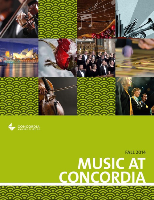 Music Brochure Fall 2014