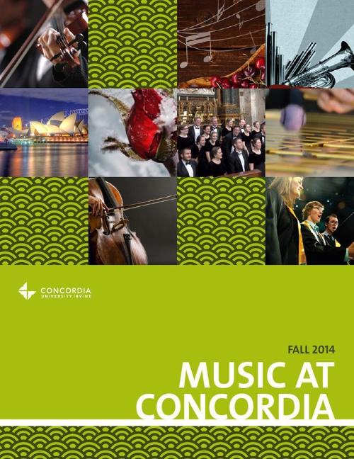 Music Brochure Fall 2014