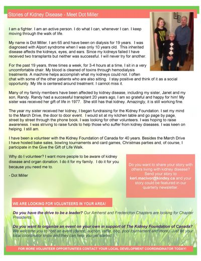 Atlantic Branch News - Issue 1 - March 2016