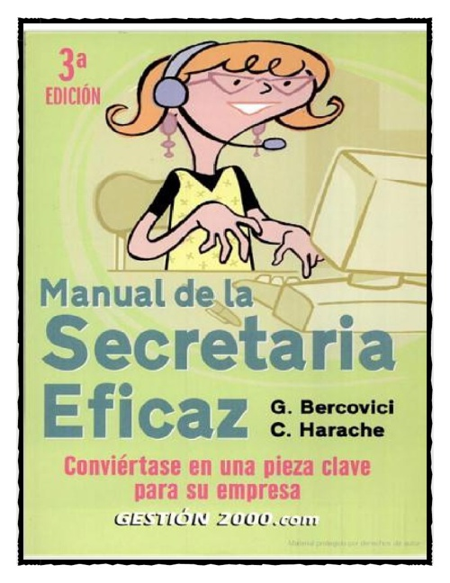 Manual para una buena Secretaria
