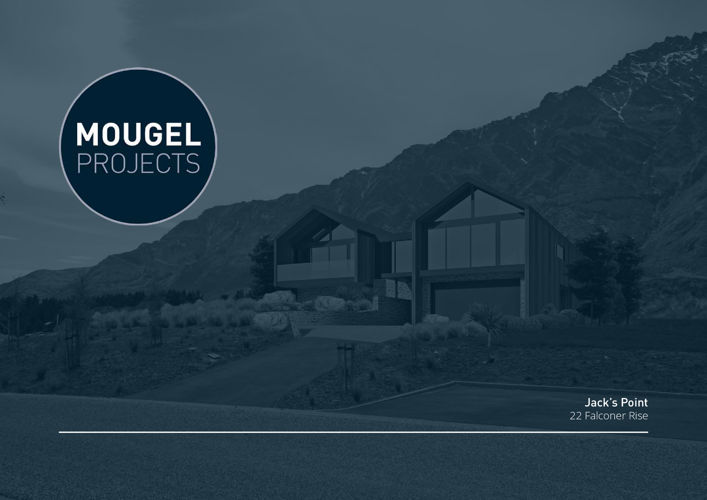 MOUGEL PROJECTS_Jack's Point, Queenstown, New Zealand.
