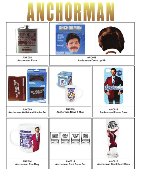 Anchorman Products