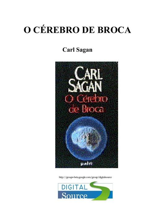 Carl Sagan - O Cérebro de Broca