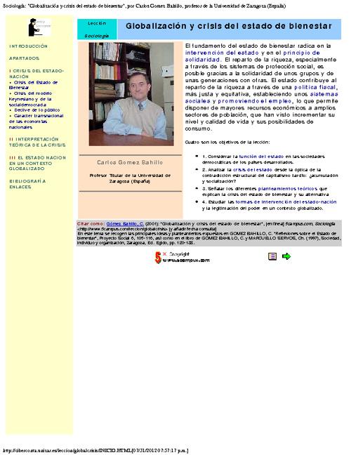 SITIOS DE REFERENCIA EN INTERNET