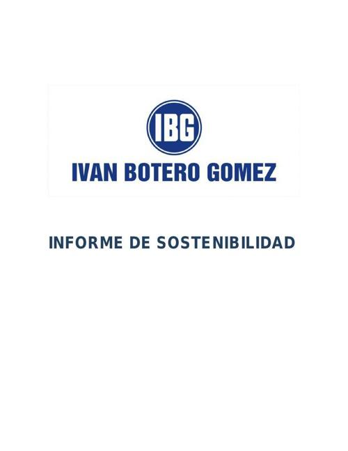 Quien es IBG IVAN BOTERO GOMEZ