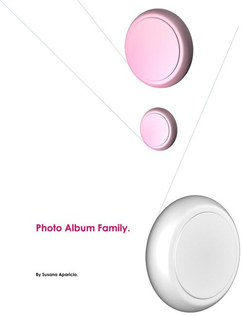 Photo Album Family.