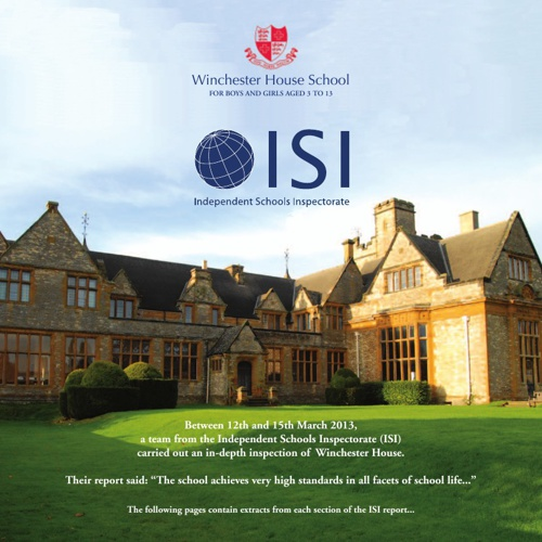 Winchester House ISI Report