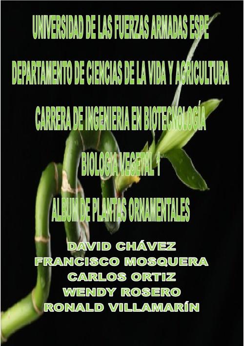 Album de Plantas