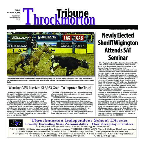 Throck wk 25