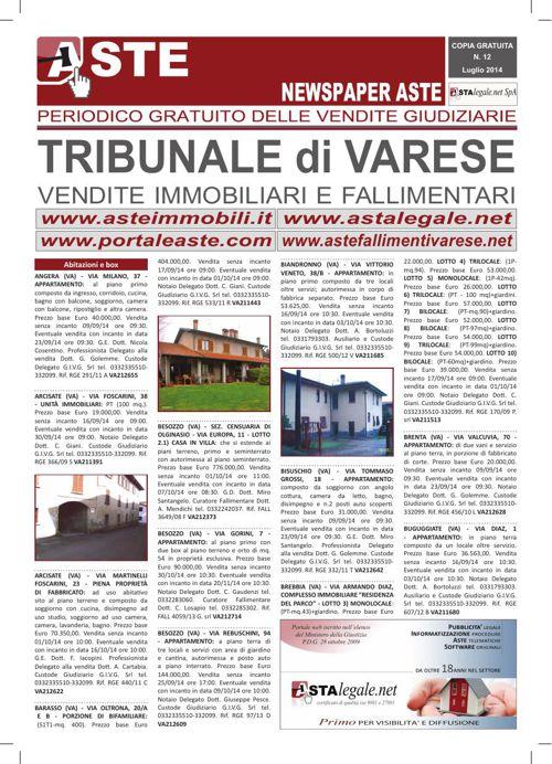 Varese luglio 2014
