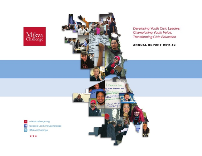 Mikva Challenge Annual Report 2012