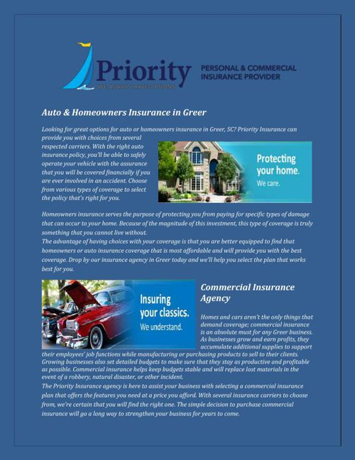 Home insurance Mauldin SC