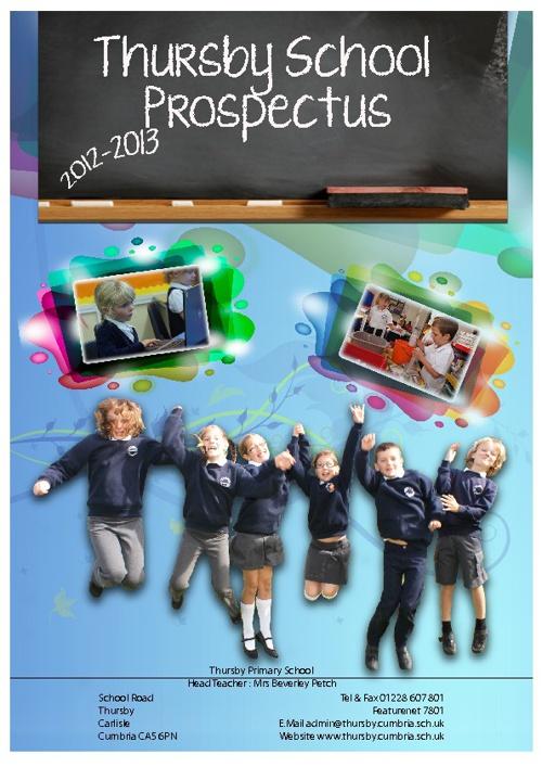 Thursby school prospectus 2012/13