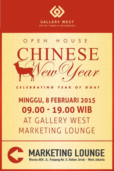 Material Promo Gallery West Open House - Imlek 2015