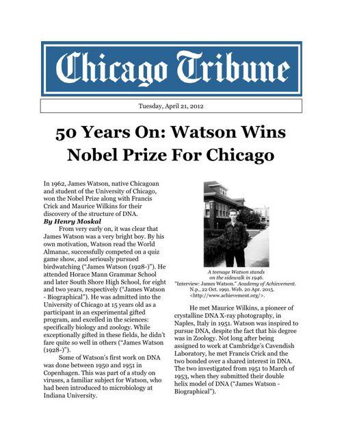 Watson Wins Big