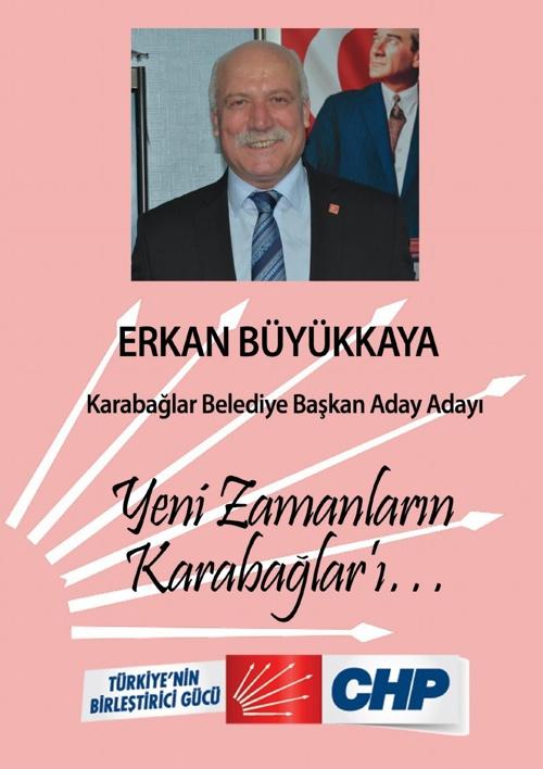 Erkan Büyükkaya - CHP Karabağlar Belediye Başkan Aday Adayı