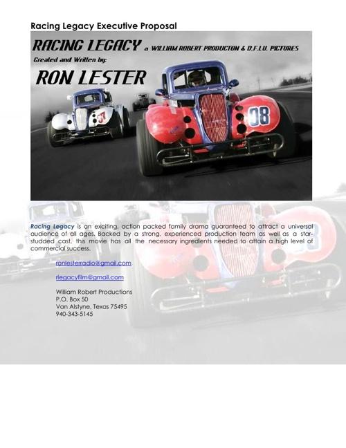 Racing Legacy Business Plan V10