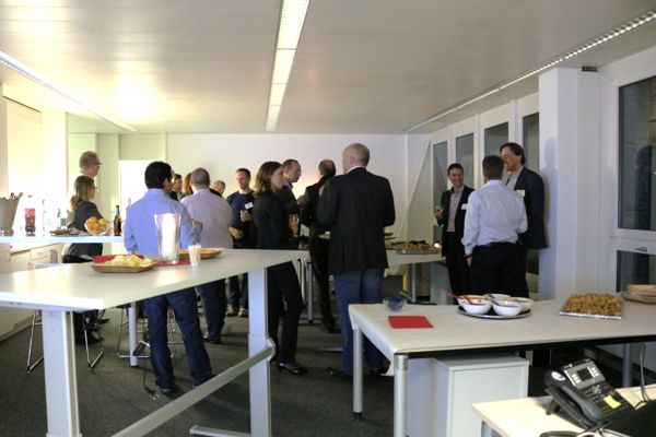 Networking-Apéro bei AMR