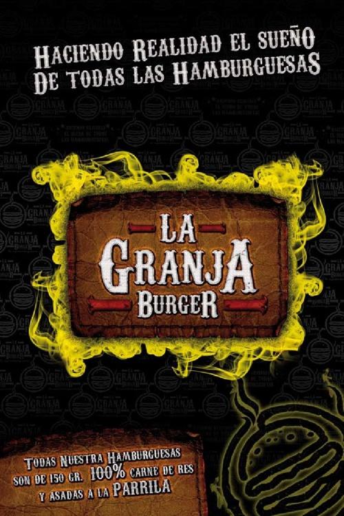 Menú La Granja Burger