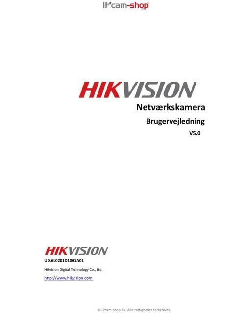 Brugervejledning_Hikvision_DK