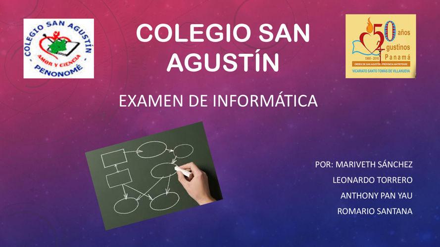 Examen de Informatica 11°B