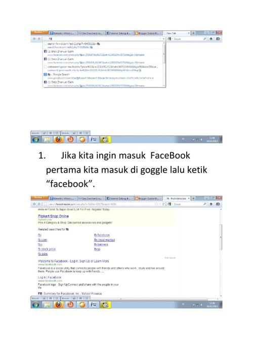 Cara Membuka Facebook