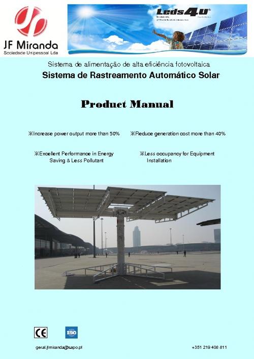 Sistema de Rastreamento Automático Solar
