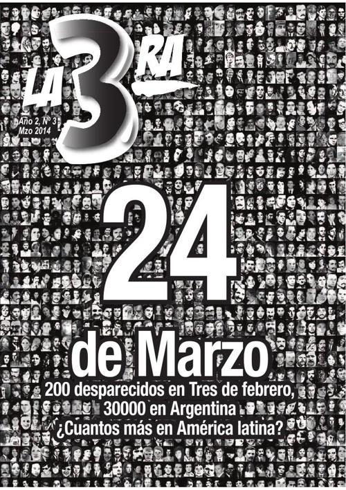 """Revista """"La 3ra"""", Nº 3, Marzo 2014"""