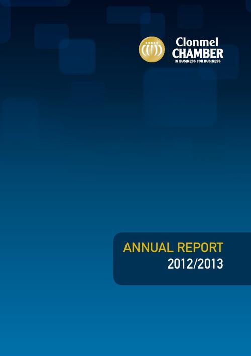 Clonmel Chamber Annual Report