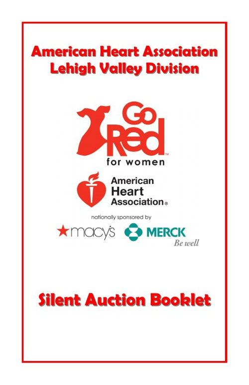 Lehigh Valley Silent Auction Booklet 2013