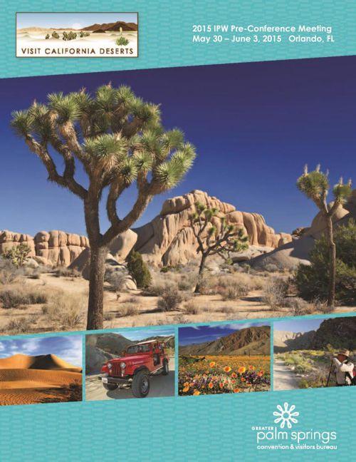 2015 IPW Pre-Con Meeting - Visit California Deserts
