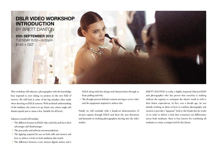 Sun Studios Australia Workshops