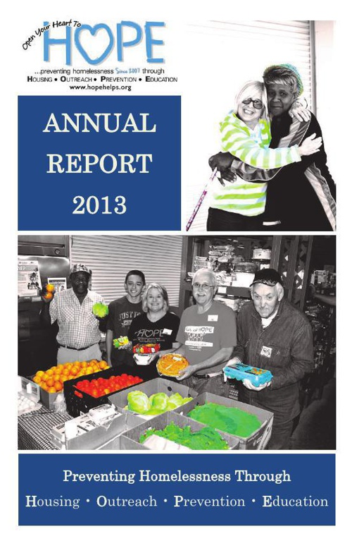 HOPE Annual Report 2013