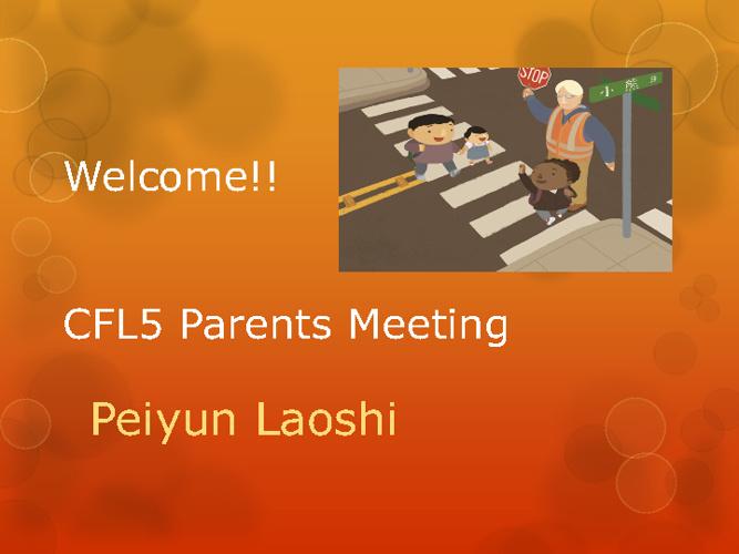 MLCC SS CFL5 Class Meeting