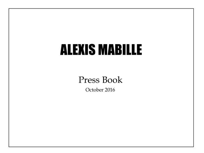 PRESS BOOK October.