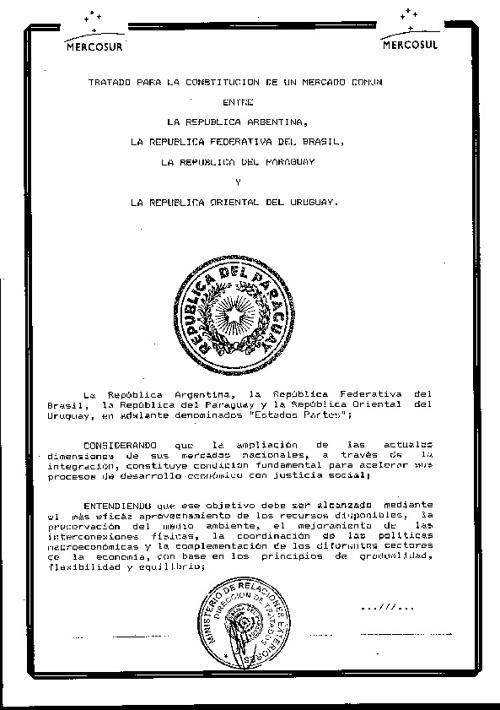 Tratado de Asunción