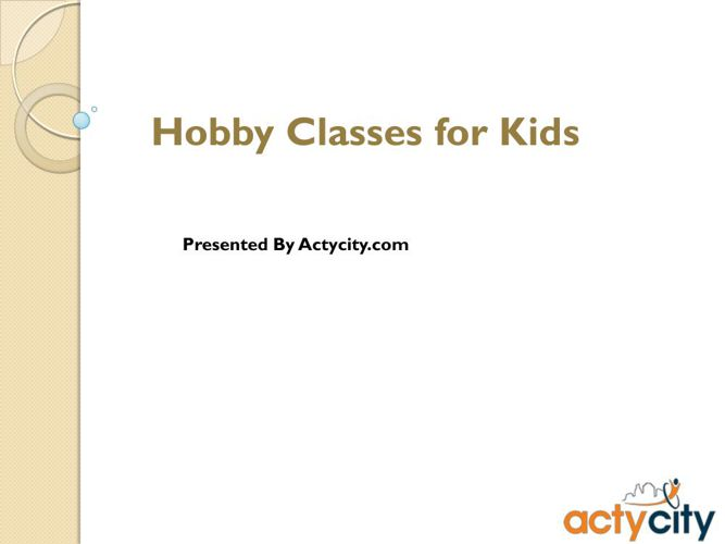 Hobby Classes Mumbai-Pune