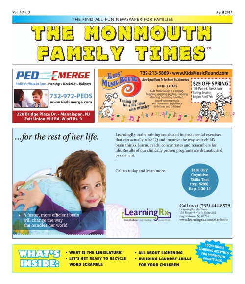 Monmouth Family Times April 2013