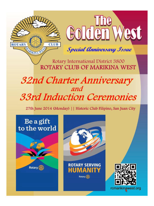 2016-06-27 The Golden West (Part 1) Anniversary Issue