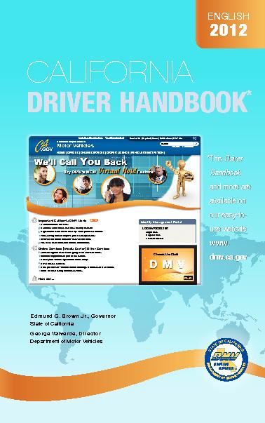 New Flip dmv booklet