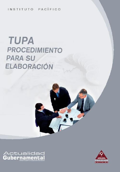 TUPA:  Procedimiento para su elaboración
